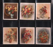Tobacco cards Cigarette cards Flower Studies